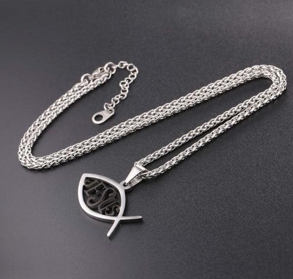 jesus fish necklaces