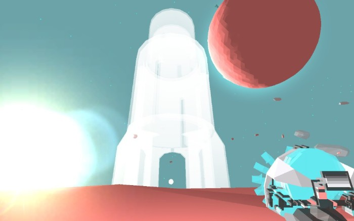La palletta dentro la torre.