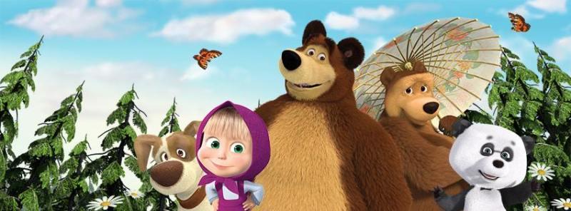 masha e orso giocattoli