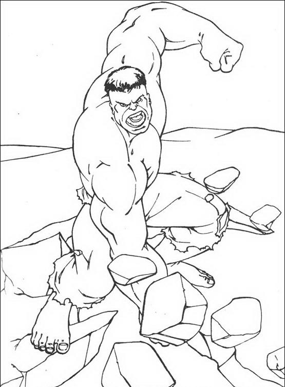 Hulk da Colorare 4