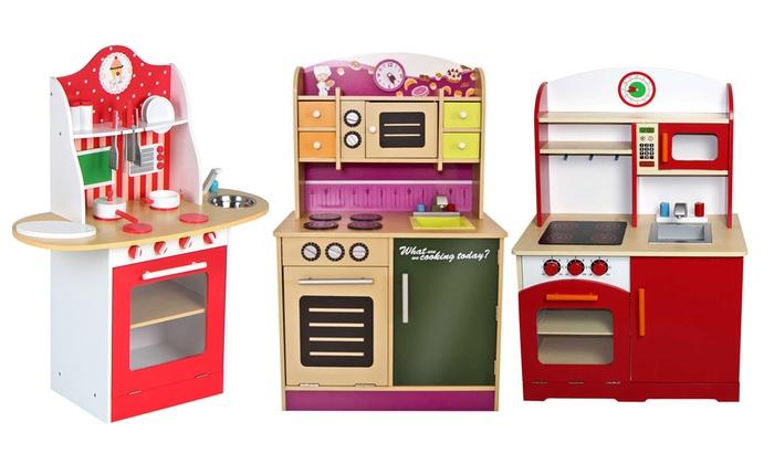 cucine giocattolo di legno