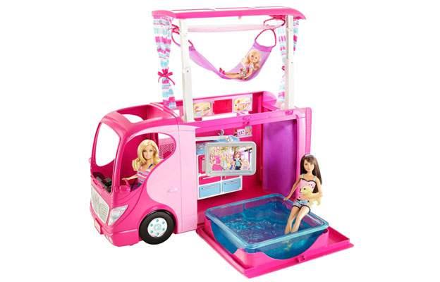 Camper barbie Mattel V6981 e X8410 2in1 bambole