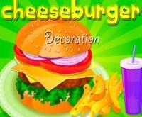 Cheeseburger Decoration, prepara un Cheeseburger multistrato