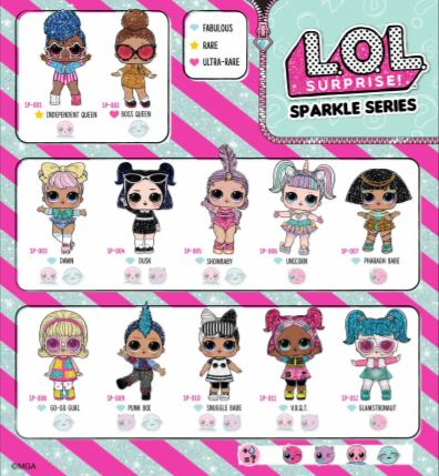 lol surprise booklet serie sparkle italia