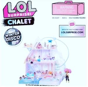 lol surprise winter disco chalet prezzo italia
