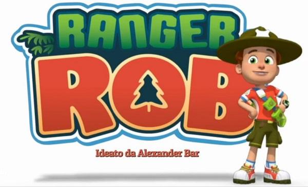 ranger rob cartone animato logo