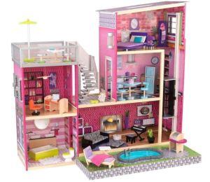 migliori case delle bambole villa moderna