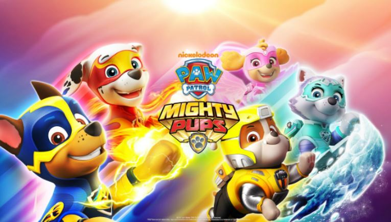 paw patrol super cuccioli mighty paw il film in italia