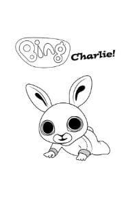disegni di bing da colorare charlie