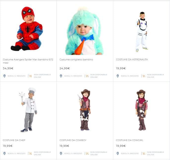 volatino dei costumi di carnevale toys center prezzi e offerte
