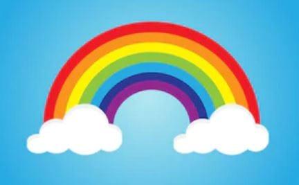 arcobaleno andrà tutto bene per balcone coronavirus