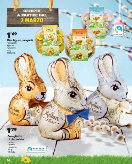 volantino pasqua 2020 aldi coniglietti