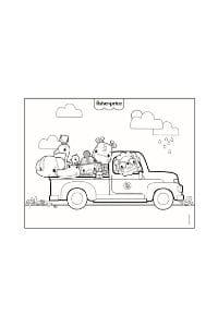 disegni da colorare per bambini 4 anni pick-up