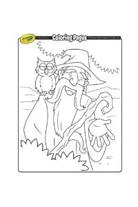 disegni da colorare per bambini di 7 anni mago