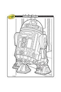 disegni da colorare per bambini di 7 anni r2d2