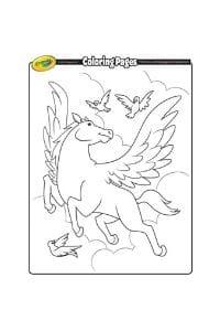 disegni da colorare per bambini di 7 anni unicorno