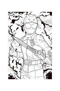 disegni da colorare per bambini di 8 anni dei power rangers