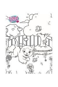 disegni da colorare per bambini di 8 anni furreal gattina