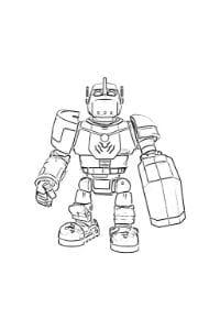 disegni da colorare robozuna clank