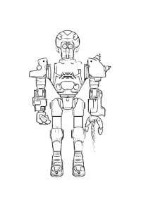 disegni da colorare robozuna spark
