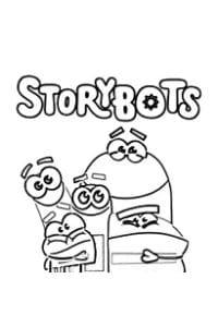 storybots disegni da colorare e stampare