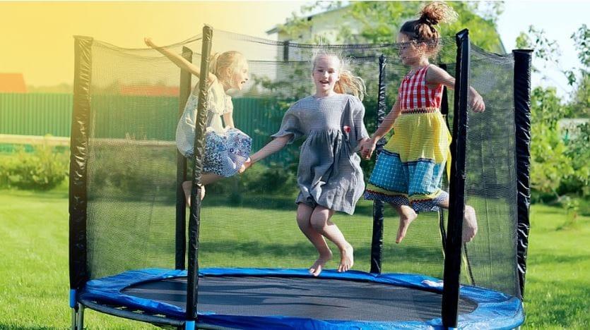 trampolino tappeto elastico giardino per bambini prezzo