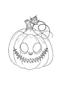 zucca di halloween pdf da colorare e stampare
