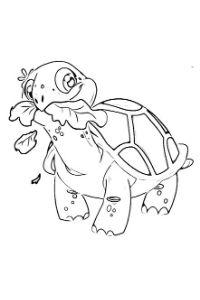 disegni da colorare topo gigio g-team tartaruga