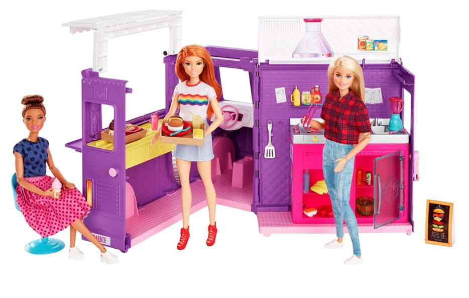 furgoncino food truck barbie prezzo