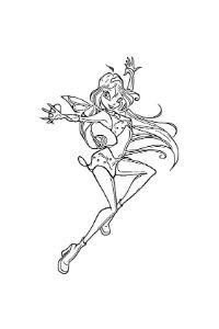 disegni da colorare winx bloom