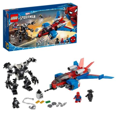 lego spider man spiderjet prezzo