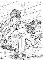 HARRY POTTER e la Camera dei segreti. Disegni da colorare