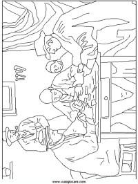 quadri_famosi_2 Disegni da colorare per bambini