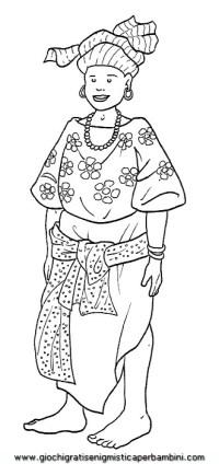 africa_vestito01 disegni da colorare