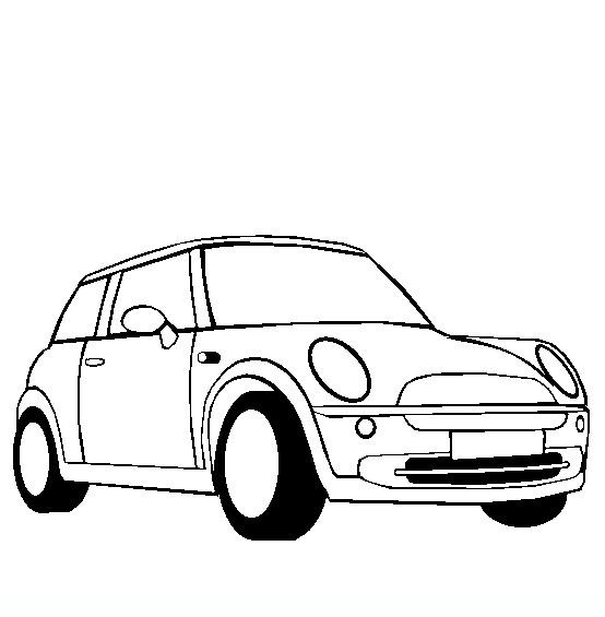 Cars disegni da colorare di mezzi di trasporto