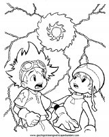 DIGIMON Disegni da colorare dei Digimon