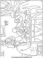 Colorare i Quadri famosi, disegni dei quadri famosi