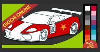 Giochi di colorare online: le auto da corsa!