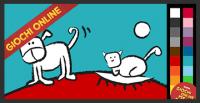 Giochi di colorare online: Cane e gatto!