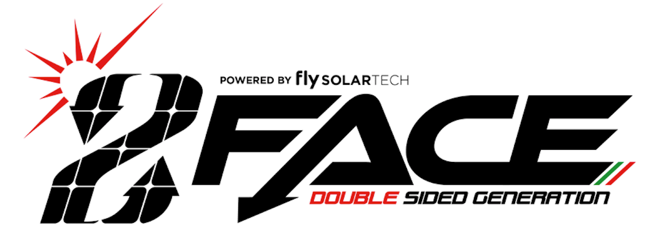 Semi-flexible photovoltaic panel FGSE 147L double-sided