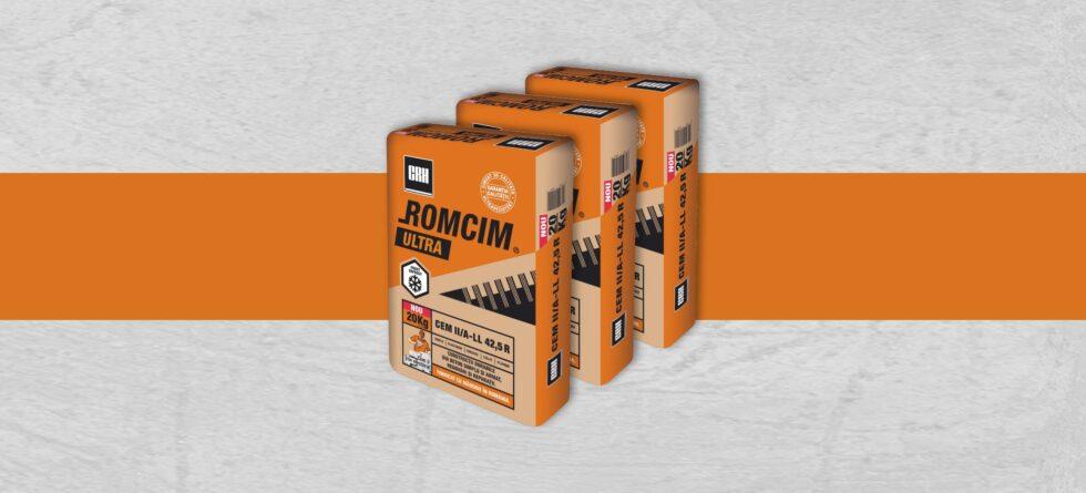 CIMENT ROMCIM ULTRA 20 KG
