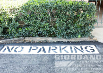 line striping marking signage houston