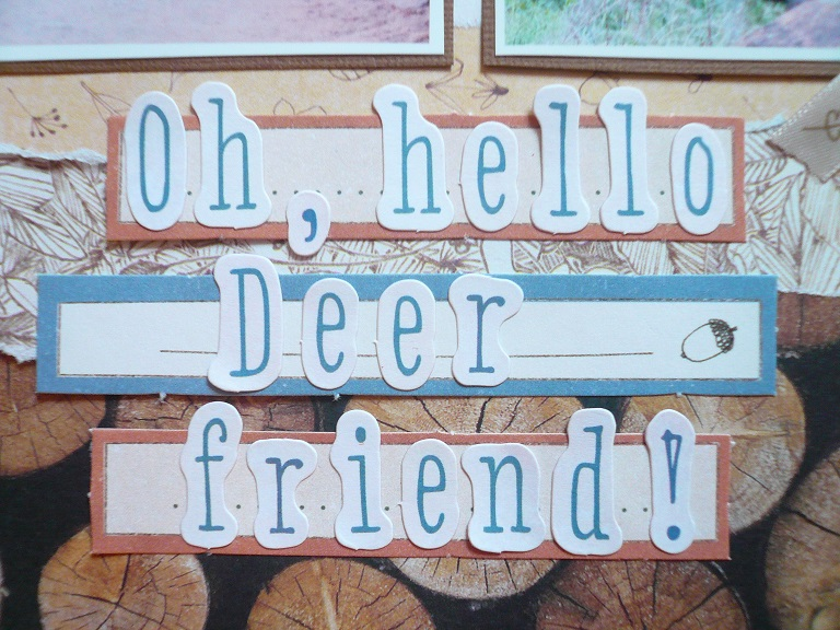 Giorgia Rossini for Docrafts OH HELLO DEER FRIEND layout 5