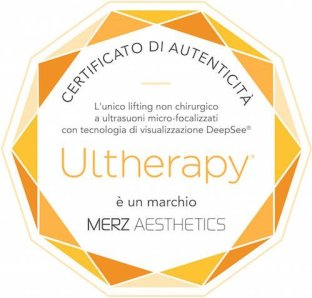 Certificato autenticita ultherapy
