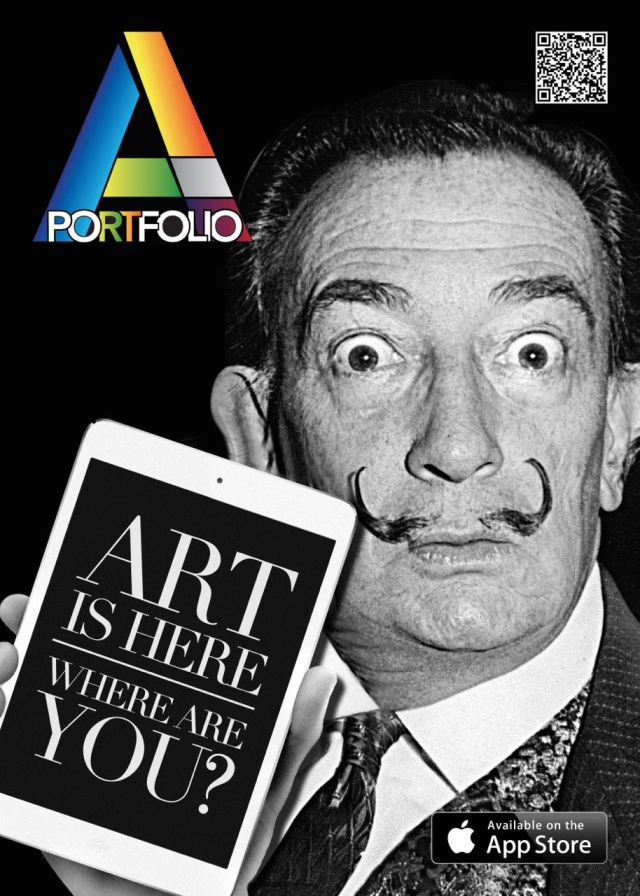 Artportfolio app apple Vernice art fair 1