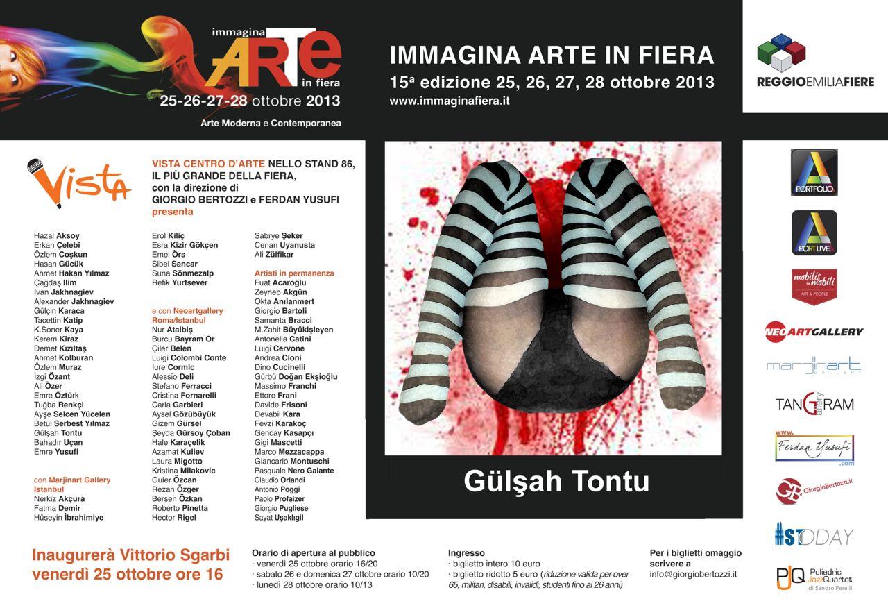 Giorgio Bertozzi Neoartgallery Immagina 2013 invito 06
