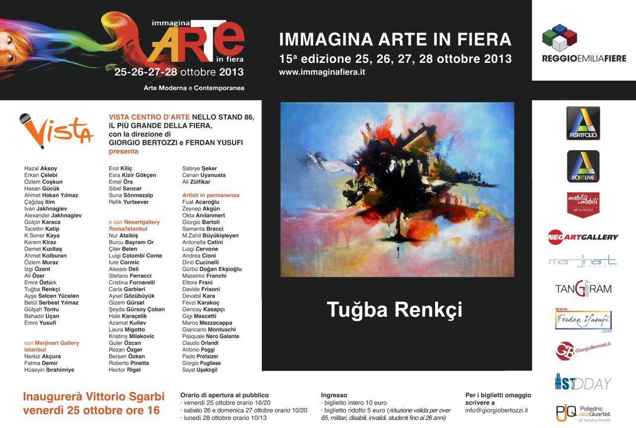 Giorgio Bertozzi Neoartgallery Immagina 2013 invito 10