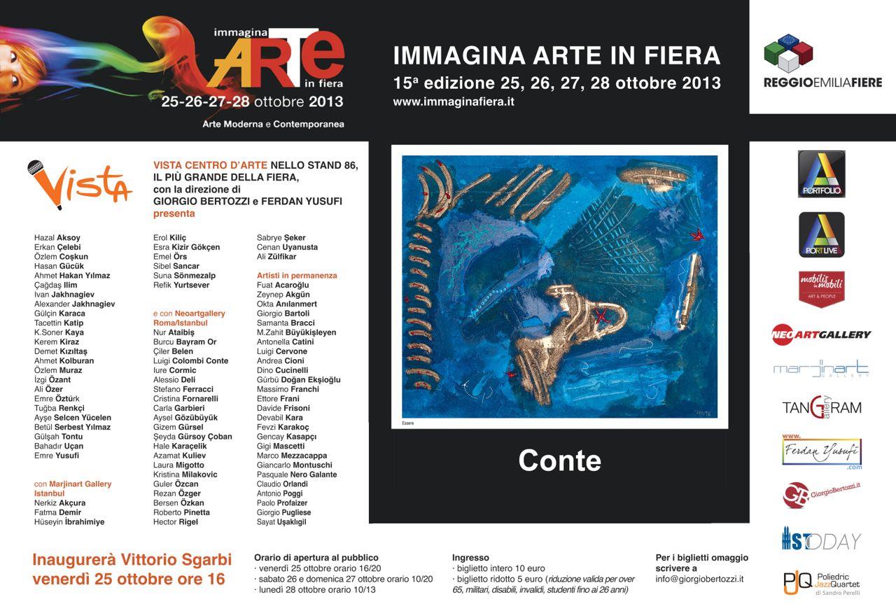 Giorgio Bertozzi Neoartgallery Immagina 2013 invito 23