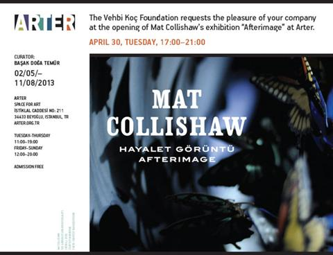 Mat Collishaw Afterimage Giorgio Bertozzi
