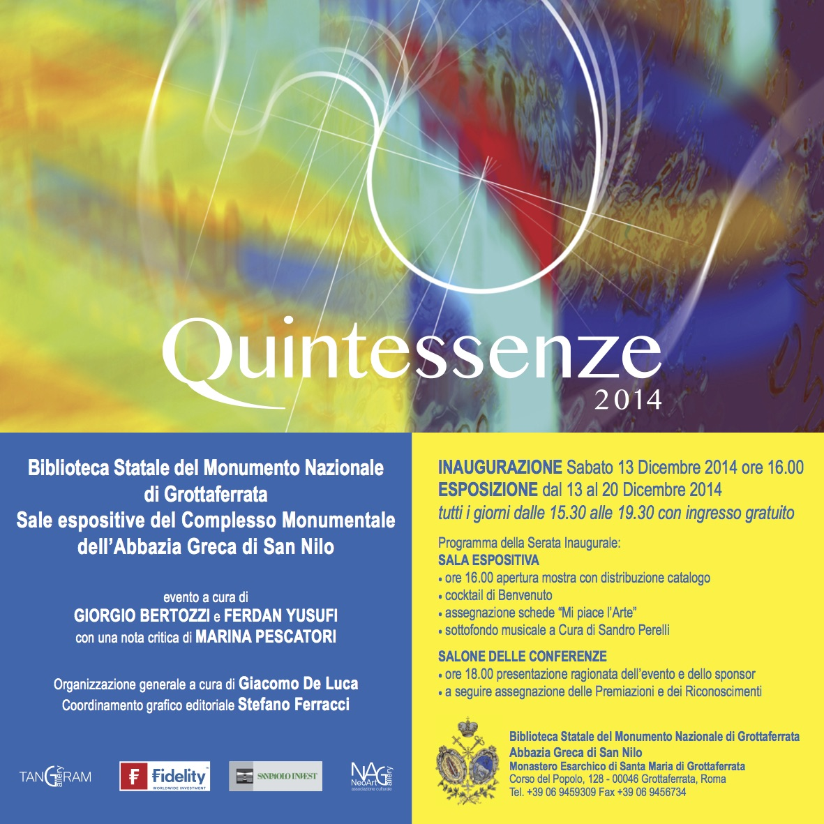 Quintessenze 2014